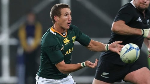 Johan Goosen takes the number 10 jersey