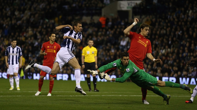 Gabriel Tamas gave West Brom an early lead but they couldn't hold onto it