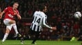 Cleverley scores as United edge out Newcastle