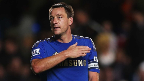 John Terry has been sidelined since 11 November