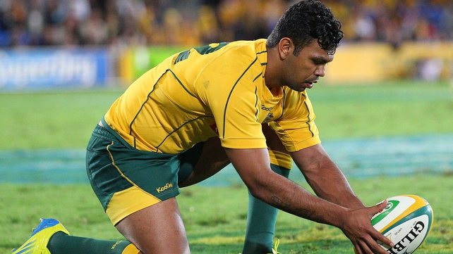 Kurtley Beale will line out at number 10 on Saturday