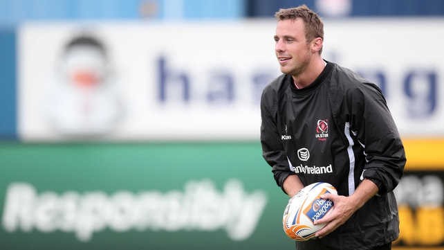 Tommy Bowe back in Ulster colours