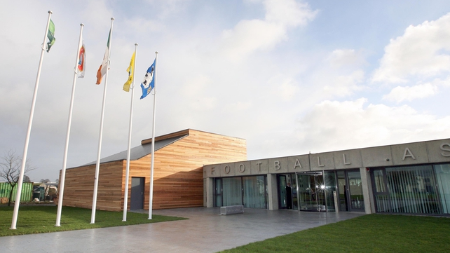 The FIFA grant will be released for works to begin at FAI headquarters at Abbotstown in March 2013