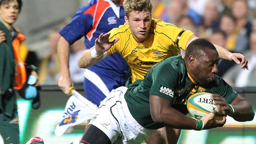 Tendai Mtawarira had to withdraw from the Test match against Ireland due to heart palpitations
