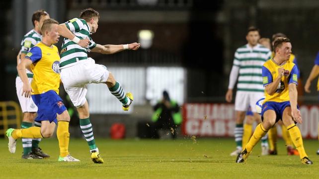 Ronan Finn scored another sensational goal for the Hoops