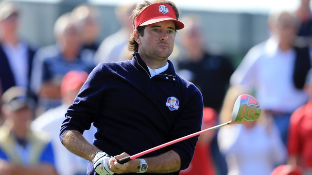 Bubba Watson put on some show to help USA to another point alongside Webb Simpson