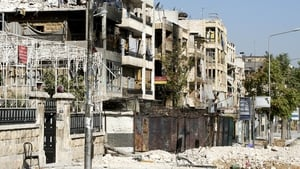 Aleppo has been badly damaged in the 18-month conflict