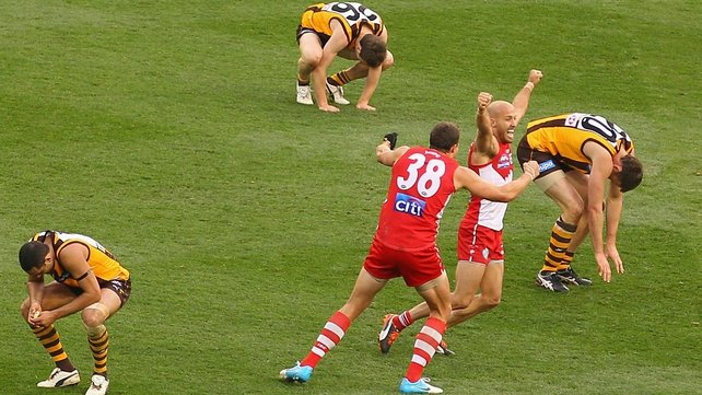 The Swans claimed only their second premiership in 79 years