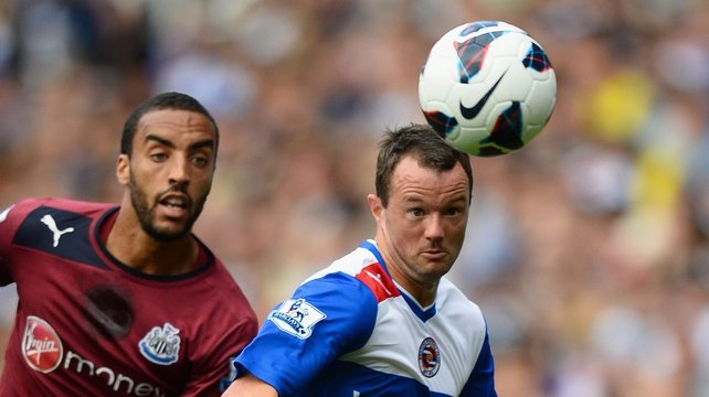 Noel Hunt scored his second in two games to put Reading into a 2-0 lead