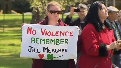 Tens of thousands gathered to remember Jill Meagher in a Melbourne park