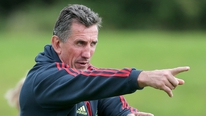 Munster coach Rob Penney looks ahead to the Leinster game, assesses Munster's progress so far and gives his initial impressions of their season
