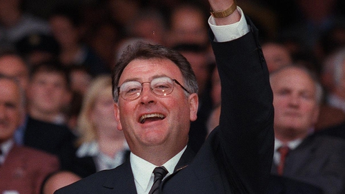 Joe McDonagh during his time as GAA President in 1998
