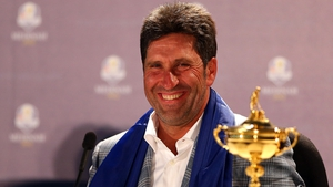 Winning European captain Jose Maria Olazabal
