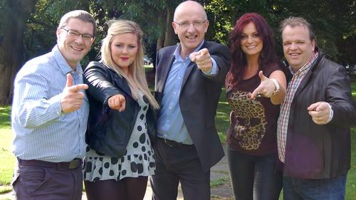 John Murray with 2012 OT leaders Killian, Natalie, Grace and Adrian