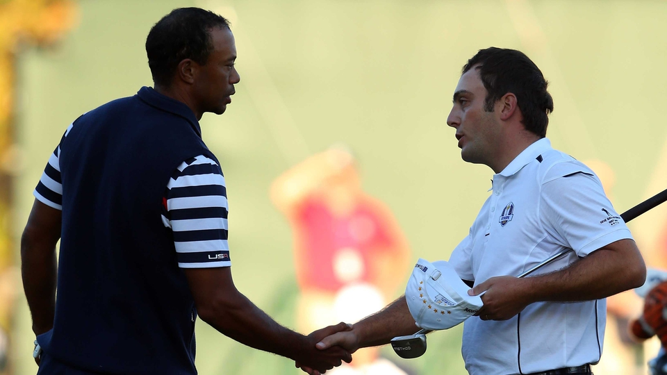 And so Tiger Woods' draw with Francesco Molinari didn't matter