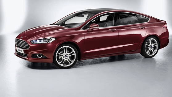 Ford showcased the new Mondeo