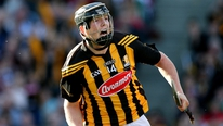 Michael Lyster presents The Sunday Game All-Ireland Hurling Final man of the match award
