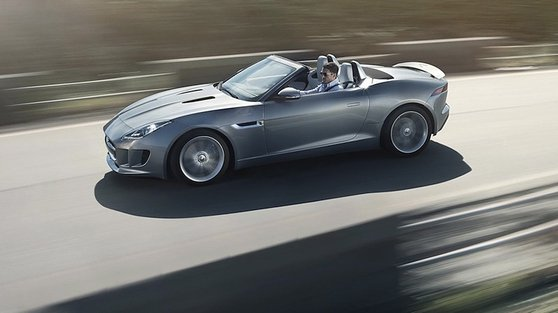 The new Jaguar F-Type is outrageously good-looking