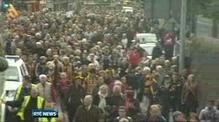 Kilkenny hurling team returns home following All-Ireland win