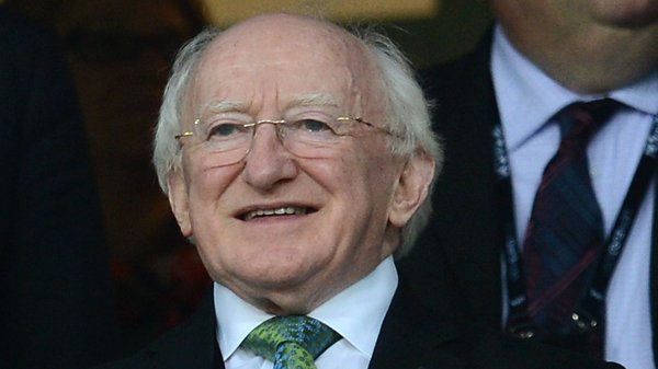 Michael D Higgins has made reaching out to the diaspora a priority during his presidency