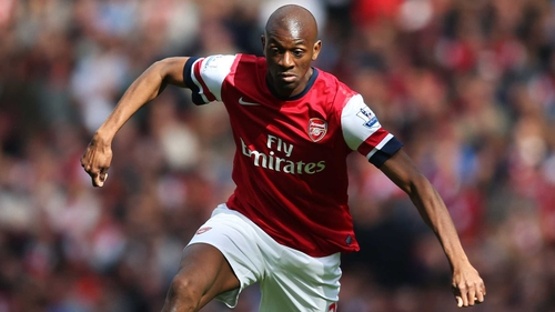 Abou Diaby faces the prospect of not playing again this year