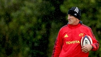 Munster coach Rob Penny is looking for improvement from his side for the Rabo PRO12 clash with Leinster
