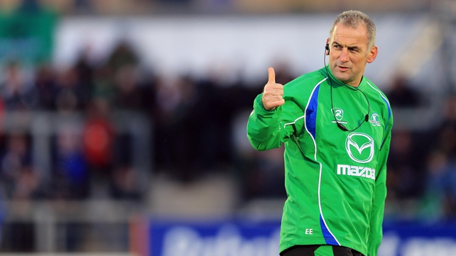 Eric Elwood will leave Connacht Rugby at the end of season, citing a desire for change as the reason behind his departure