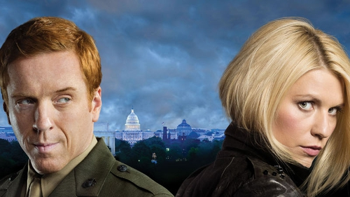 Homeland stars Damian Lewis and Claire Daines