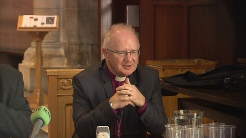 Dr Richard Clarke replaces Archbishop Alan Harper, who retired in September
