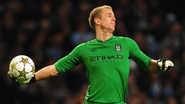 Joe Hart helped Manchester City salvage a point against Borussia Dortmund