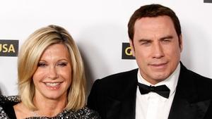 Grease stars Olivia Newton John and John Travolta
