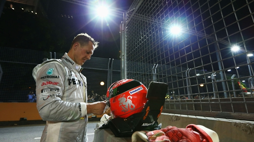 Michael Schumacher is set to make a final farewell to Formula One