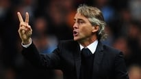 Roberto Mancini gives RTÉ' Sport's Stephen Alkin his thoughts after Man City's draw with Borussia Dortmund