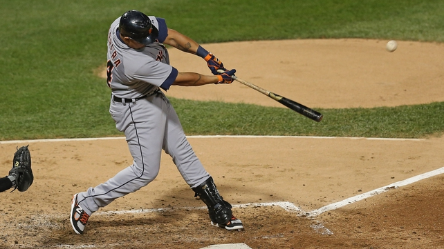Miguel Cabrera finished with a .330 batting average, 44 home runs and 139 RBIs