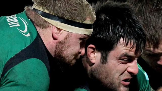 Brett Wilkinson and Ronan Loughney return to Connacht's starting XV