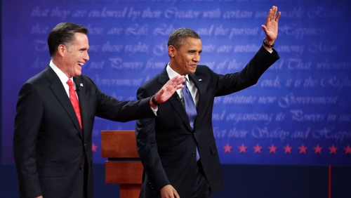 A Romney spokeswoman said his team had raised $12m online after the debate in less than 48 hours