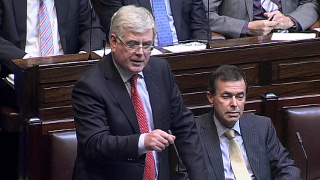 Eamon Gilmore said he was assured there was no ministerial involvement in site selection