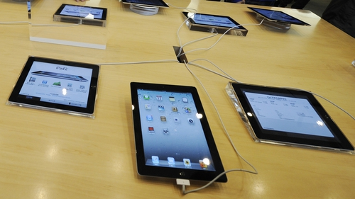 Tablet sales eating into personal computer market