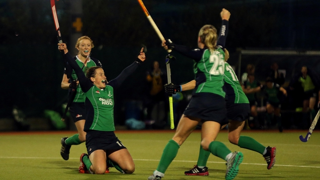 Irish delight after Audrey O'Flynn's winning goal