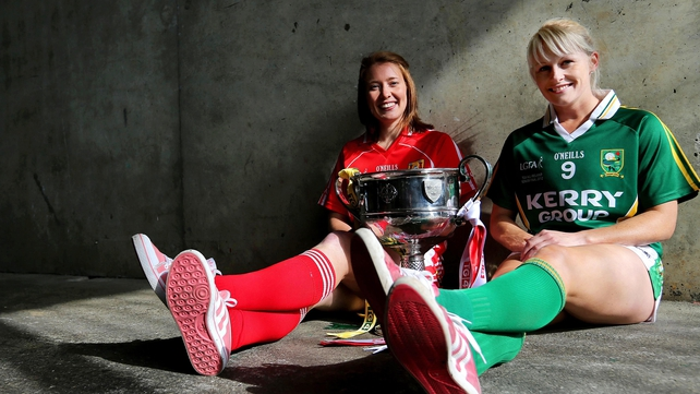 Rena Buckley of Cork and Kerry's Bernie Breen go head-to-head on Sunday