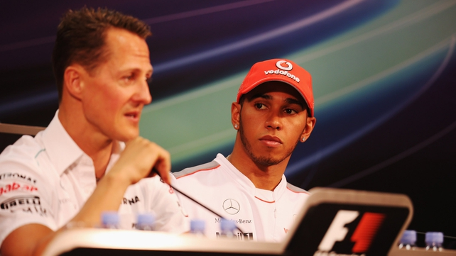 Michael Schumacher: 'We all know Lewis is one of the best drivers we have around and I am sure he and the team will have a successful future'