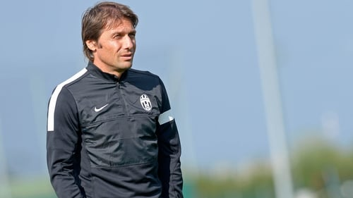Antonio Conte joined Juve from Siena in 2011