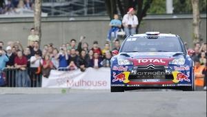 Sebastien Loeb won four of seven stages