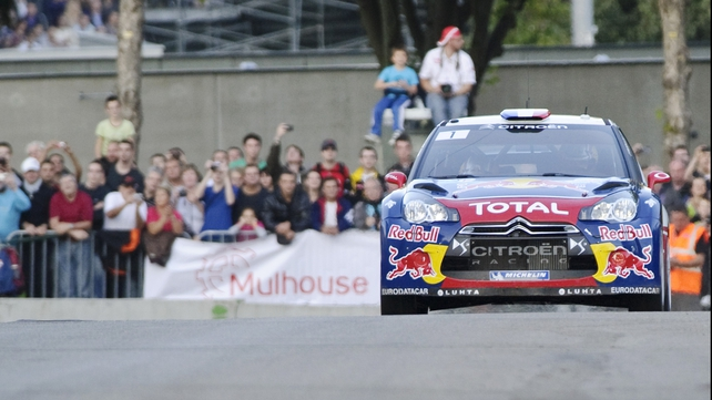 Sebastien Loeb won four of seven stages