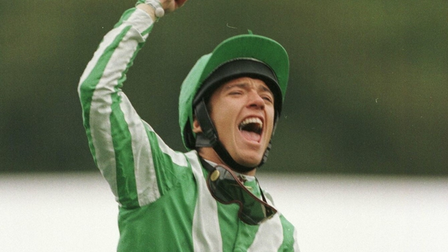 Frankie Dettori is a three-time winner of the Arc, including victory in 1995 on Lammtarra