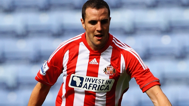 Sunderland captain John O'Shea, club have appealed Wes Brown's red card