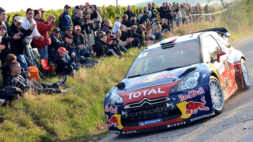 Loeb so close to a ninth title success