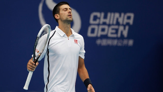 Novak Djokovic landed his third China Open in a row, beating Jo-Wilfried Tsonga in straight sets