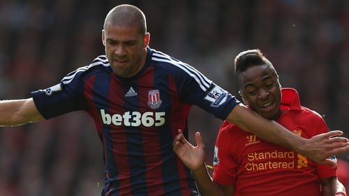 Ireland international Jon Walters and his Stoke side left Anfield with a point