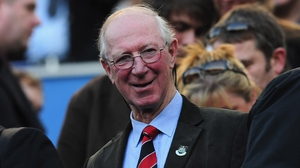 Jack Charlton died over the weekend